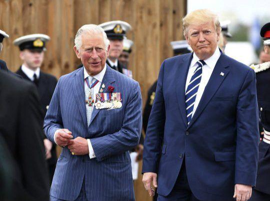 查尔斯王子成了鲸鱼王子,特朗普你真的是认真的吗?