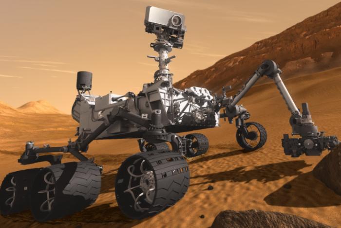 """火星生命真的存在?探测器""""嗅""""出甲烷量达峰值"""