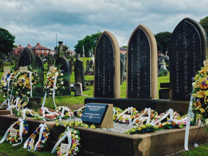 英华人筹款修复北洋水师水兵在英墓碑!这执着让英国人肃然起敬