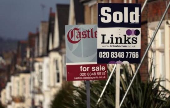 """受""""脱欧""""不确定性影响,英国房屋销售""""失去动力"""""""
