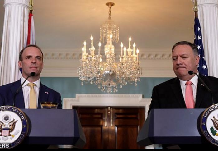 """美国务卿:英国一""""脱欧"""",美国马上签贸易协定"""