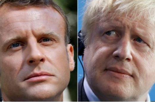 """英首相今日访法,马克龙:重启""""脱欧""""谈判""""不在选项内"""""""