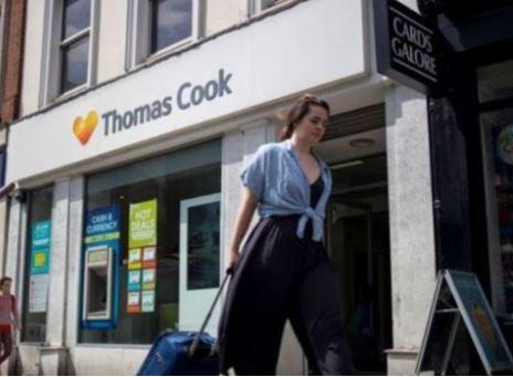 竞争对手收购Thomas Cook 555间门店