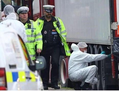 最新:英媒称卡车39名死者或有多名越南人