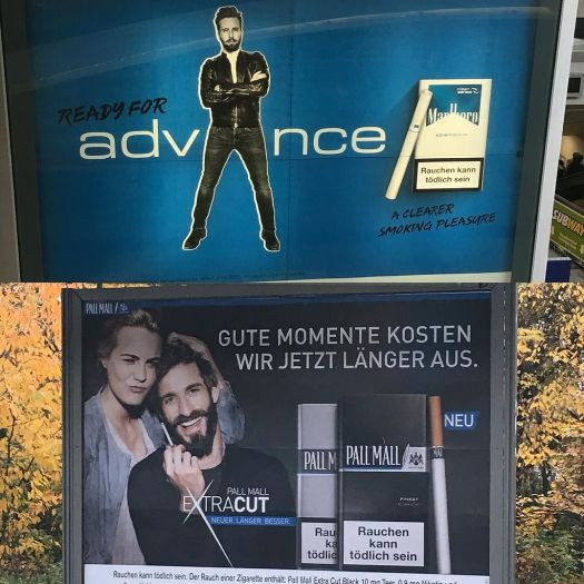 德国将立法全面禁止户外烟草广告