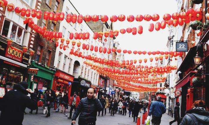 """实探疫情下的伦敦中国城!英媒称变""""鬼城""""?而现实是这样…"""
