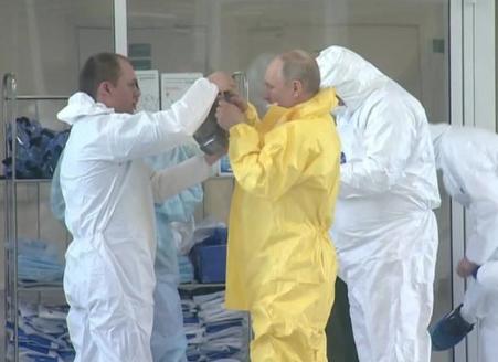 俄新冠病毒感染者人数超千人 总统办公厅有人感染