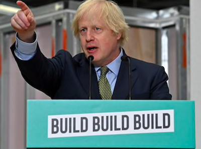 约翰逊宣布重建经济新政:建设建设建设!英格兰半数医院上周新冠死亡清零