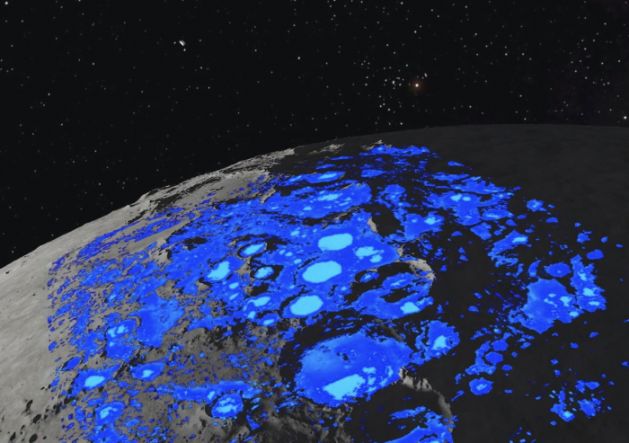 国际最新研究证实月球上存在水,或储存在月球两极冷阱中