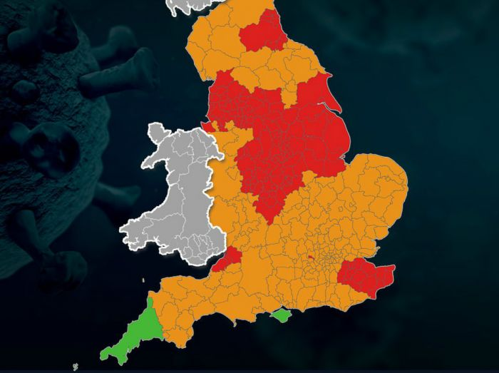 """英国宣布""""增强版""""三级防疫规定,你家是哪级?还能探亲访友吗?"""