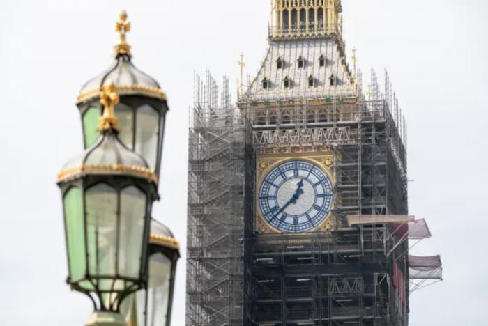 伦敦大本钟修复接近完工,回归90年前模样!苏格兰人民为何怒了?