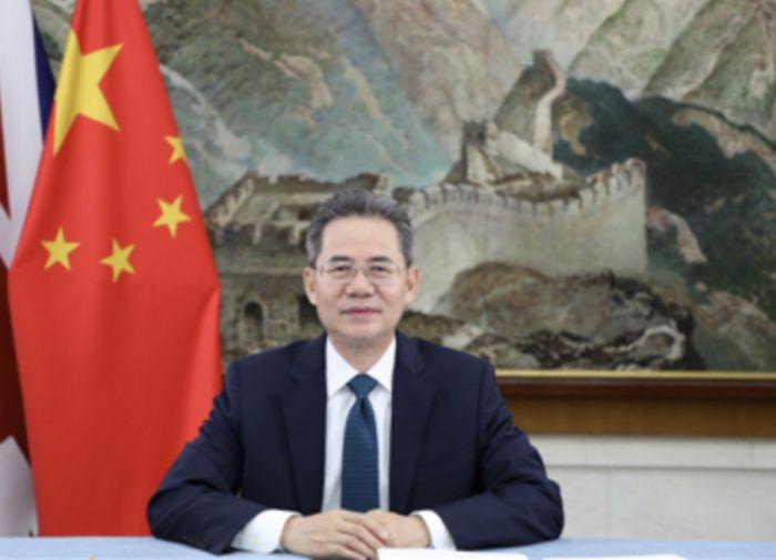 """中国驻英大使郑泽光:所谓""""维吾尔特别法庭""""是""""伪法庭"""",中国坚决反对"""